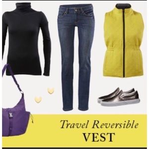 Cabi Travel Reversible Vest